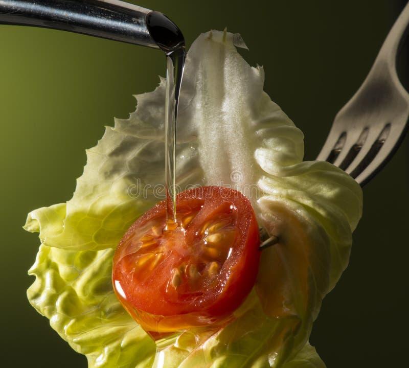 Italienische Küche stockbild