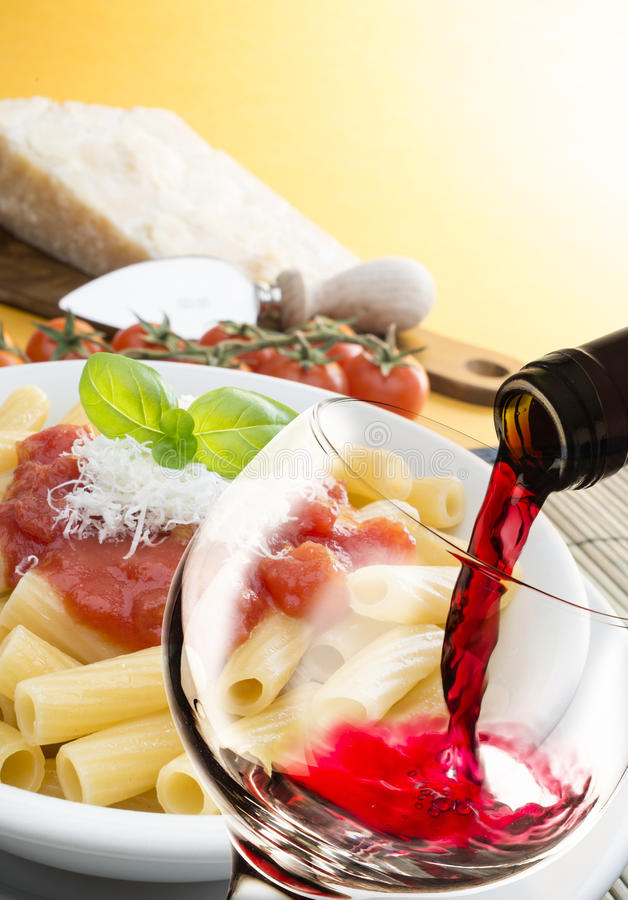 Italienische Küche stockfotografie