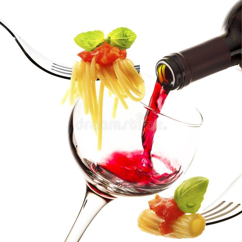 Italienische Küche stockbilder
