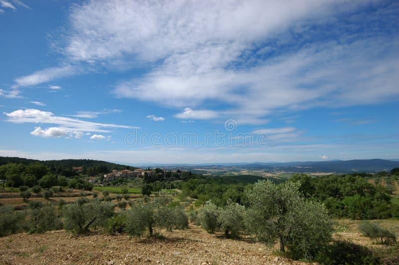 Italienische Landschaft stockbilder