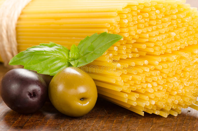 Italienische Lebensmittelinhaltsstoffe lizenzfreie stockbilder