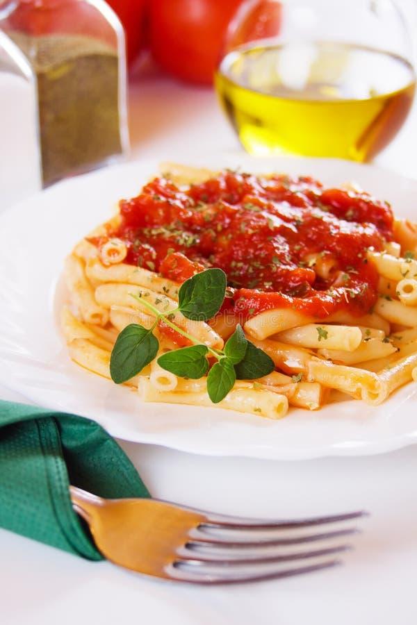 Italienische Makkaroniteigwaren lizenzfreie stockfotos