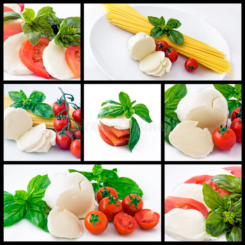 Italienische Nahrung lizenzfreies stockbild