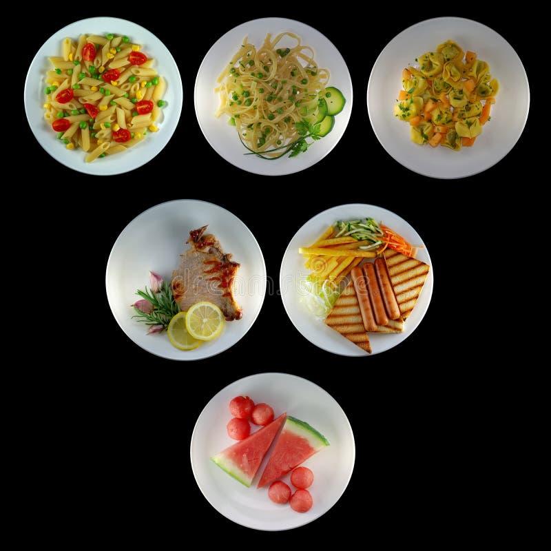 Italienische Nahrung lizenzfreie stockbilder