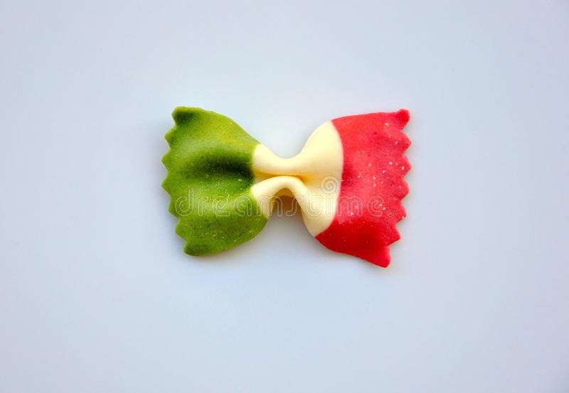 Italienische Nahrung: Teigwaren stockfotos