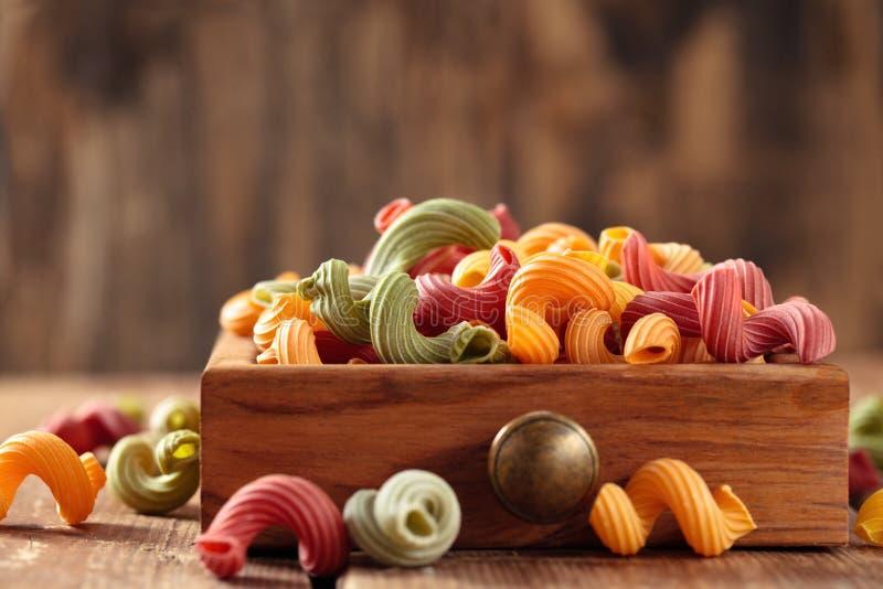 Italienische Nahrung Teigwaren stockbilder