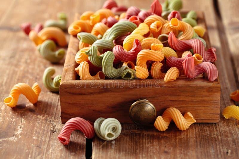 Italienische Nahrung Teigwaren stockfotografie