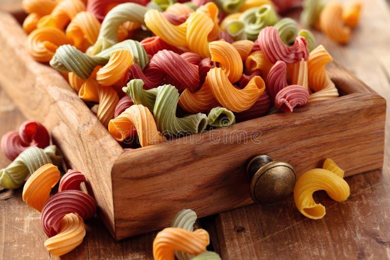 Italienische Nahrung Teigwaren lizenzfreies stockfoto