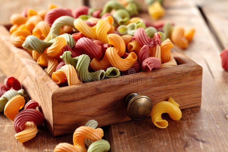 Italienische Nahrung Teigwaren stockbild