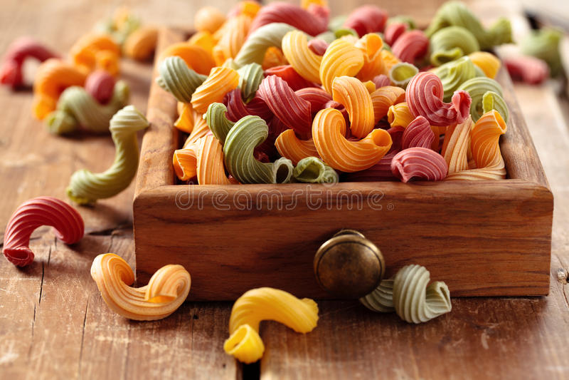 Italienische Nahrung Teigwaren lizenzfreies stockbild