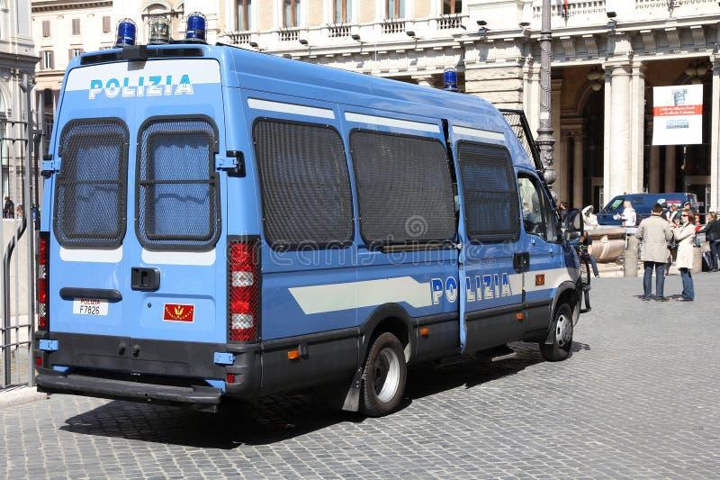 Italienische Polizei stockbilder