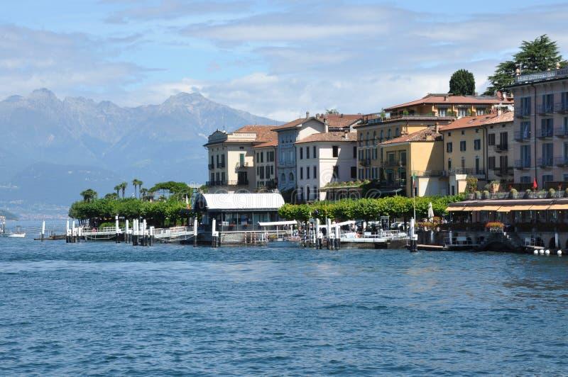 Italienische Stadt Bellagio und Como See, Italien lizenzfreie stockfotos