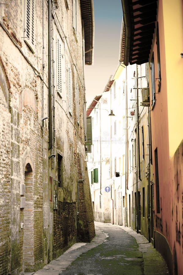 Italienische Stadt von Pisa stockbild