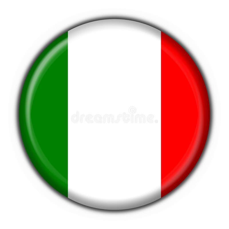 Italienische Tastenmarkierungsfahne stock abbildung