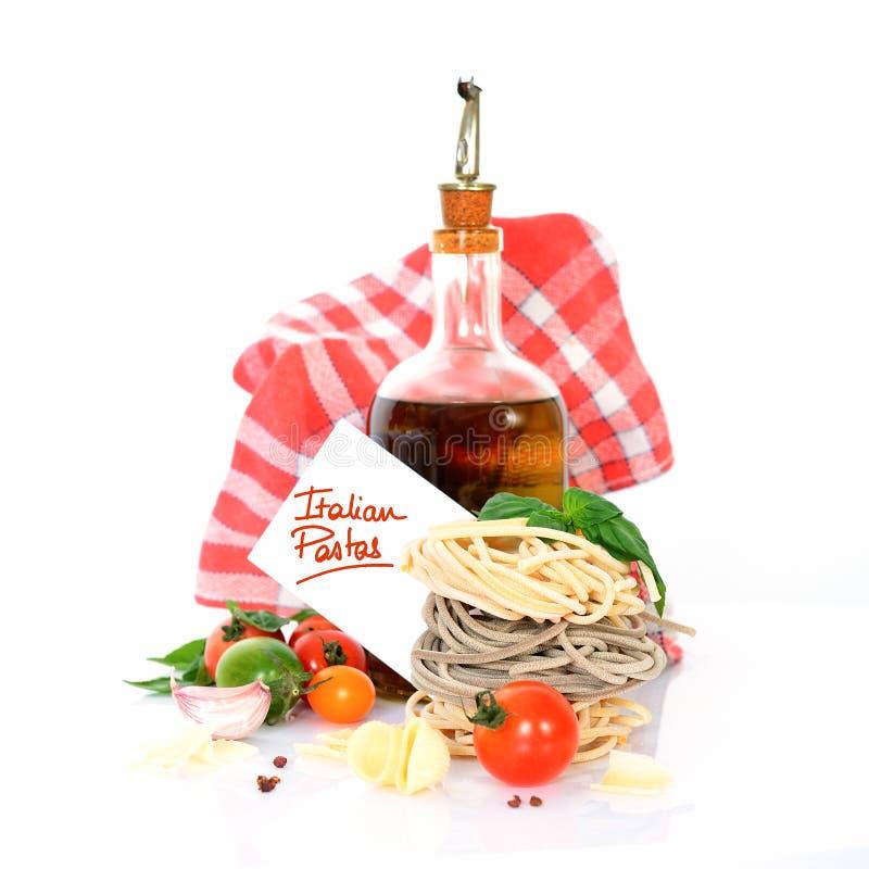Download Italienische Teigwaren stockbild. Bild von kochen, trocken - 26363281