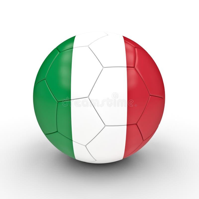 Italienischer Fußball stock abbildung