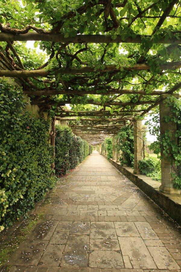 Italienischer Garten stockfoto