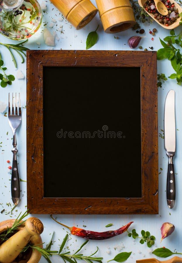 Italienischer Hausmannskosthintergrund der Kunst; Restaurantwoche stockfotos