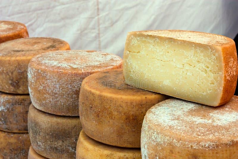 Italienischer Käse stockbild