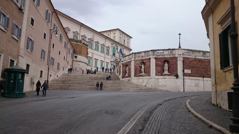 Italienischer Präsidentenpalast stockfotos