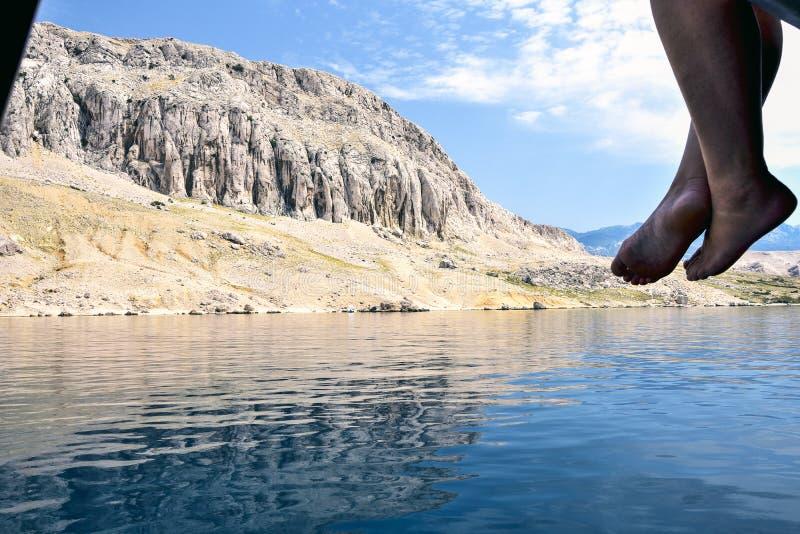 Italienischer See des Garda Sees panoramisch lizenzfreie stockbilder