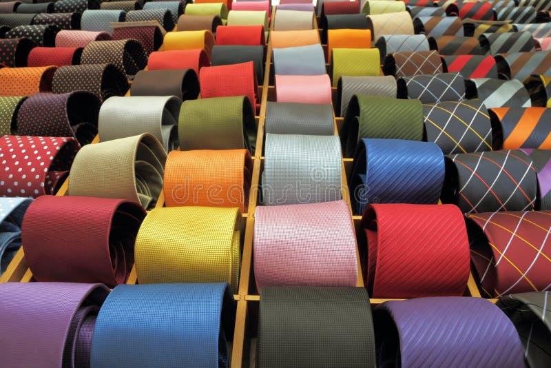 Italienischer Verkauf der silk Gleichheit lizenzfreies stockbild