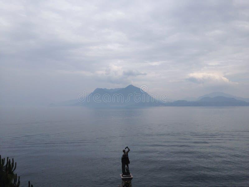 Italienischer Vulkan stockbild