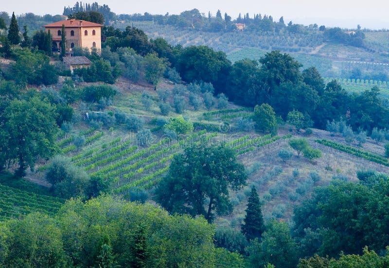 Italienisches Landhaus stockbilder