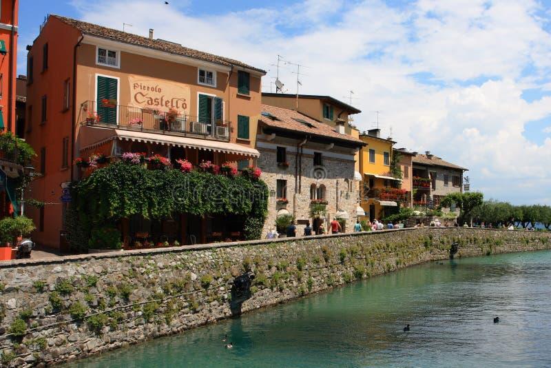 Italienisches Landhaus stockfoto