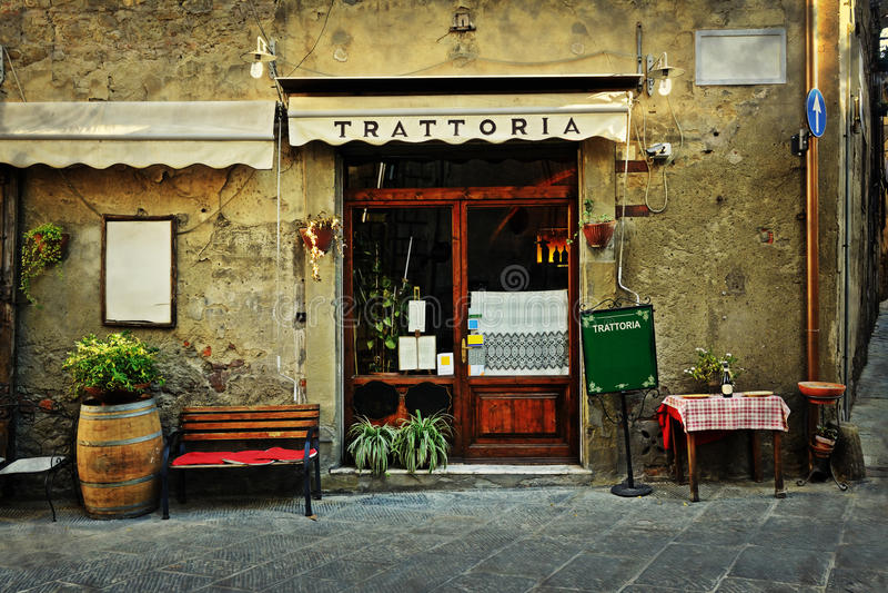 Italienisches Restaurant lizenzfreie stockfotos