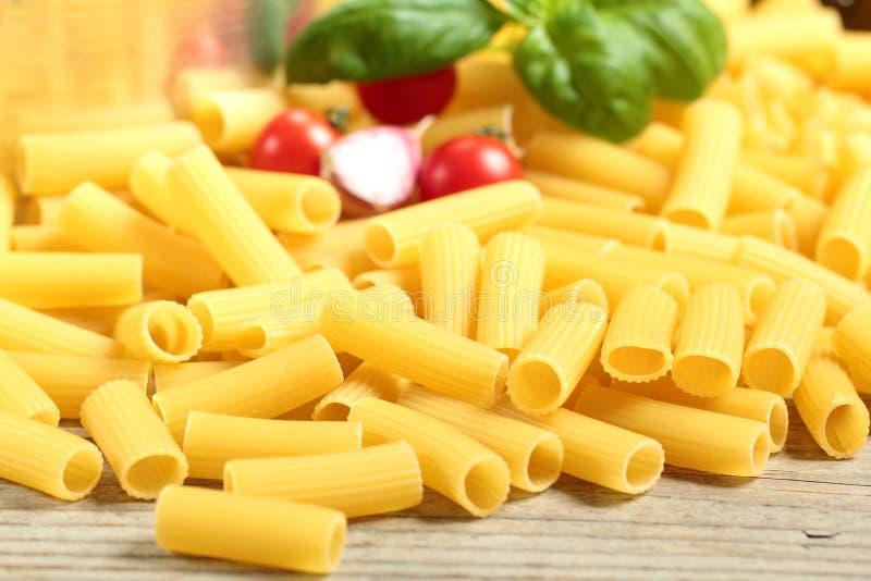 Italienisches Teigwaren macarone stockfoto
