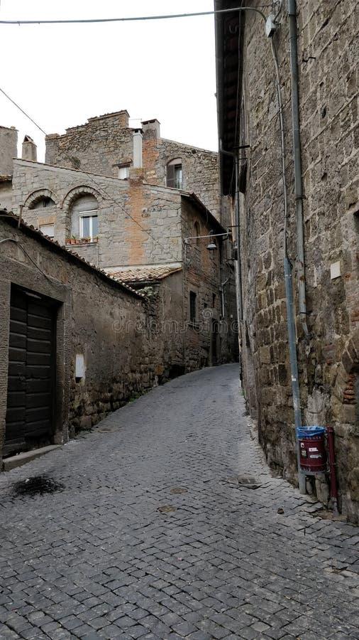 italiensk by arkivbild