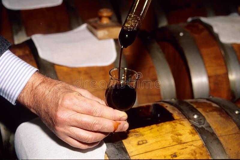 Italiensk balsamic vinäger arkivfoton