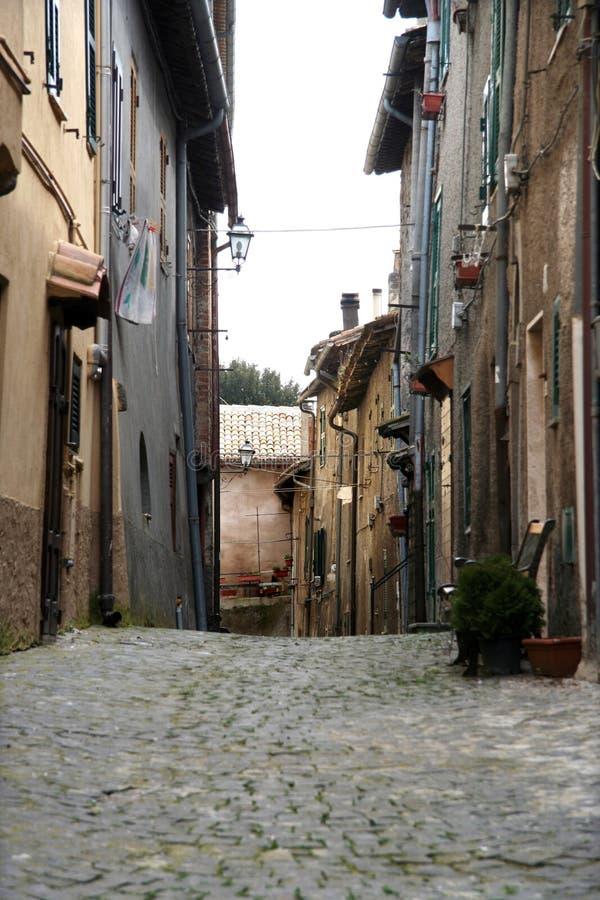 italiensk gata royaltyfri bild