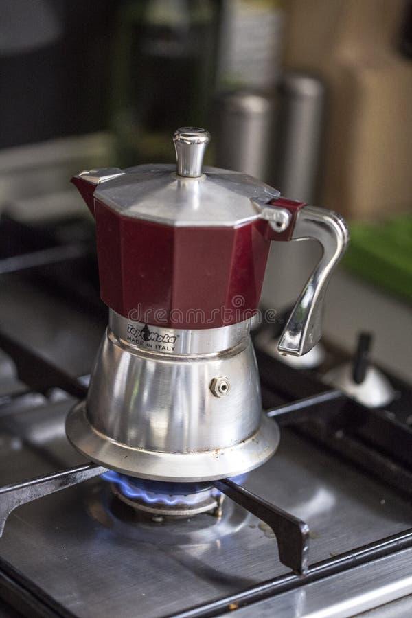 Italiensk kaffebryggare