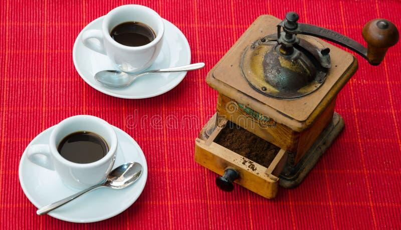 Italiensk kaffesakkunnig royaltyfria bilder