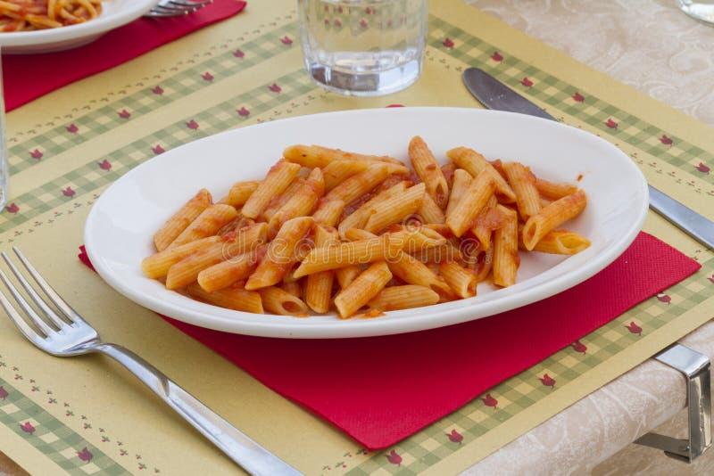 italiensk macaroni arkivfoton