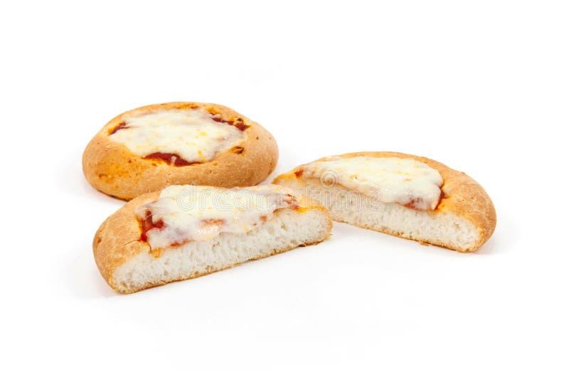 Italiensk mini- pizzagluten frigör arkivfoto