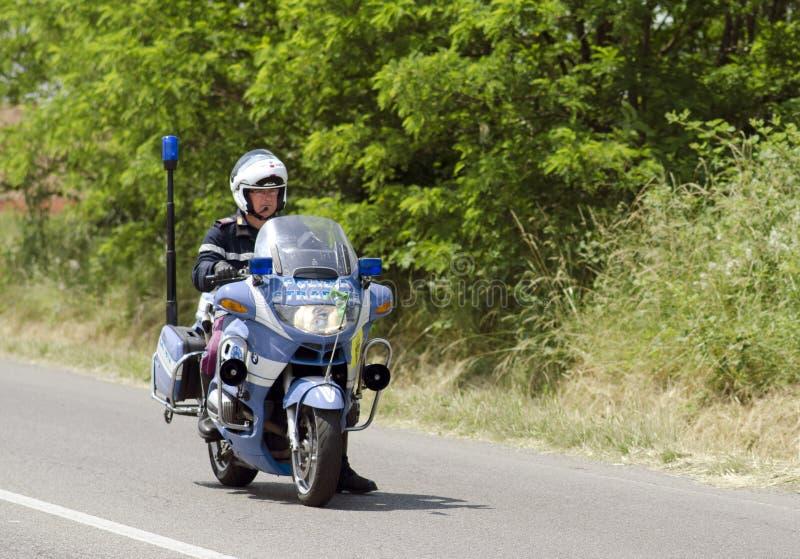 italiensk motorcykelpolis arkivfoton