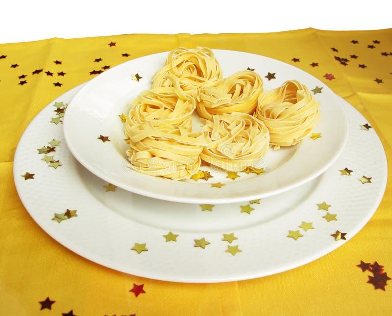 italiensk pasta royaltyfria bilder