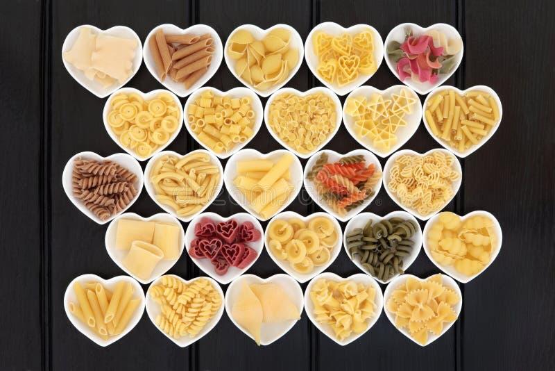 Italiensk pastamärkduk royaltyfri foto
