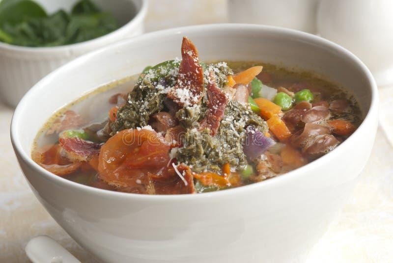 italiensk soup royaltyfri fotografi
