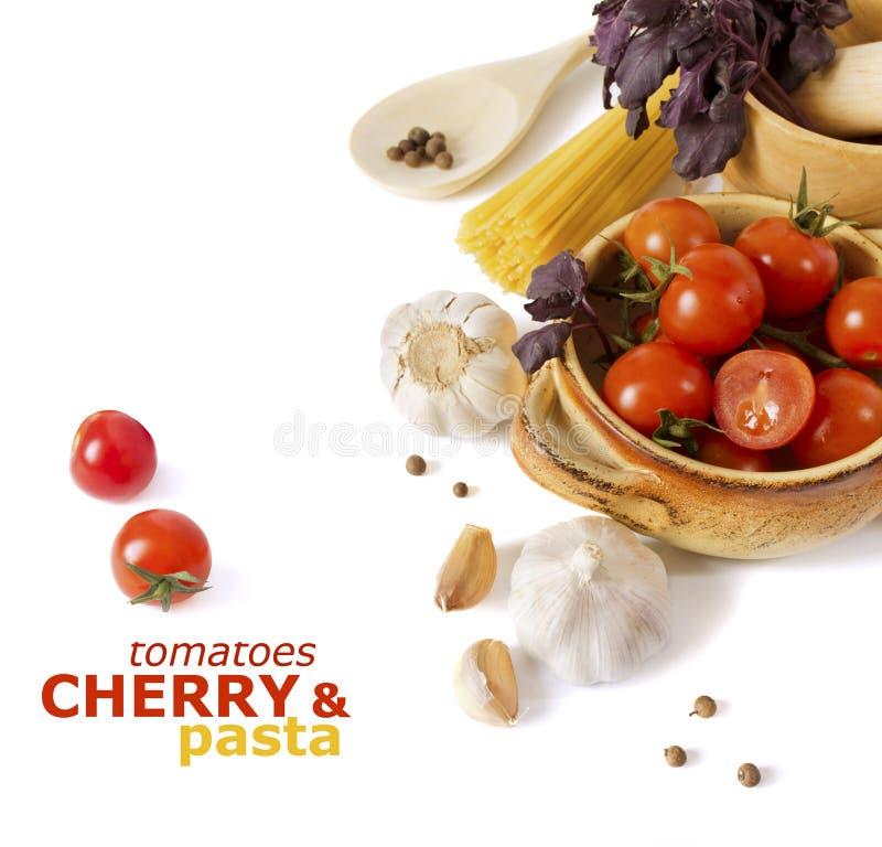 italienska pastergrönsaker arkivbild