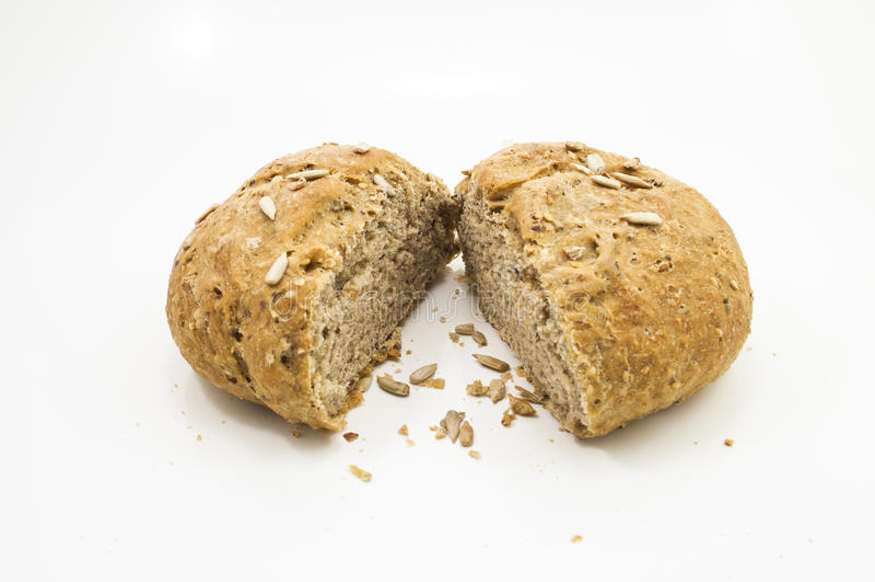 Italienskt bröd för stycke arkivfoto
