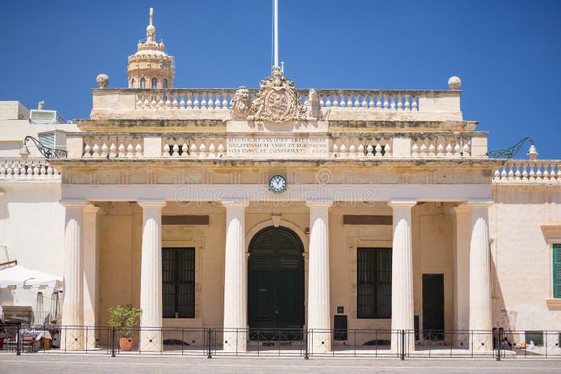 Italienskt kulturellt institut, Valletta, Malta arkivbild