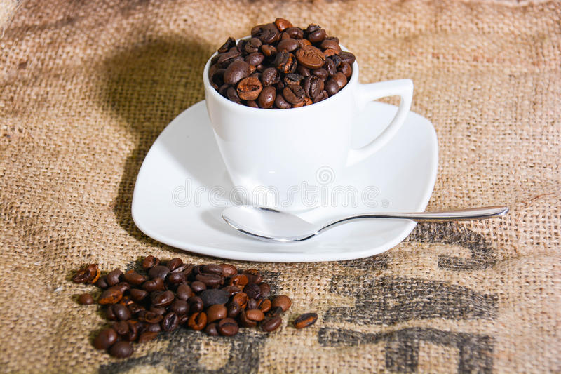Italienskt original- kaffe royaltyfri bild