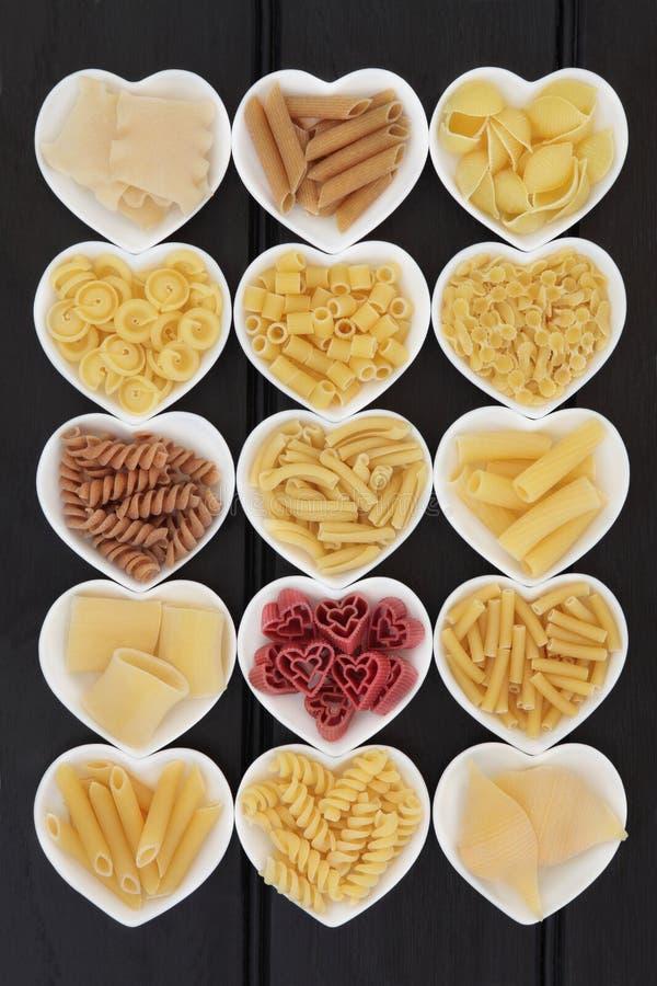 Italienskt pastaval arkivbilder