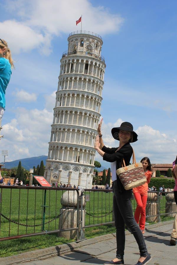 Itally Pisa arkivfoton