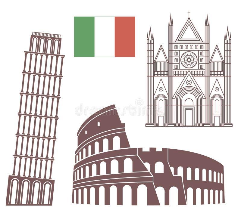 Italy ilustração royalty free