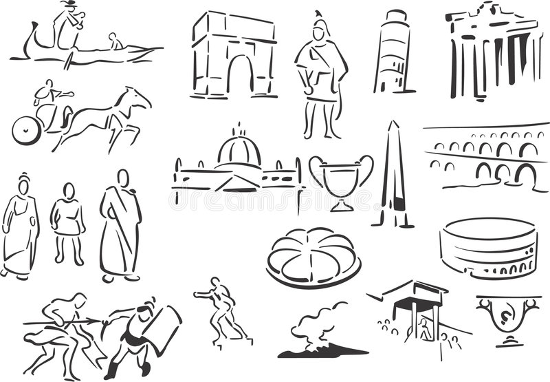 italy royalty ilustracja